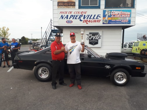 Photo de Napierville Dragway.